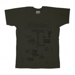 tshirt, pigscode, unfollow your leaders, karma, unfollow, army green, humanity, irregardless