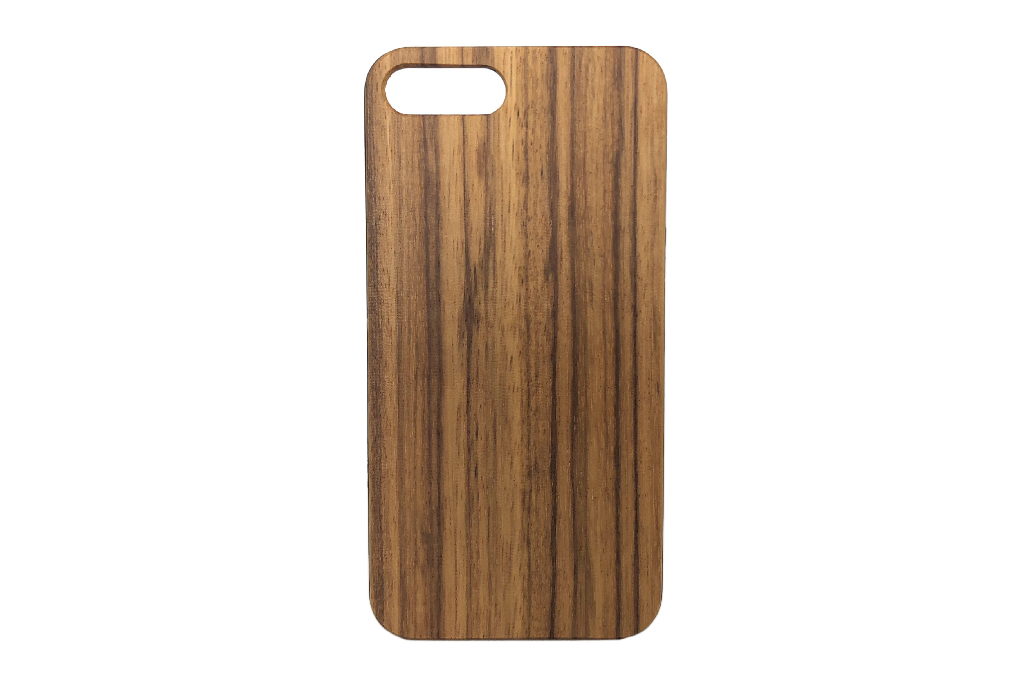 size 40 d5db7 a2638 iPhone 8 plus wooden case - Zebra